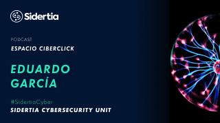 Eduardo Garcia En el espacio CiberClick