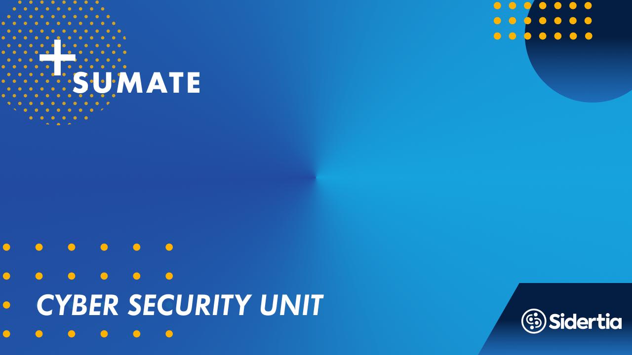 Cibersecurity unit